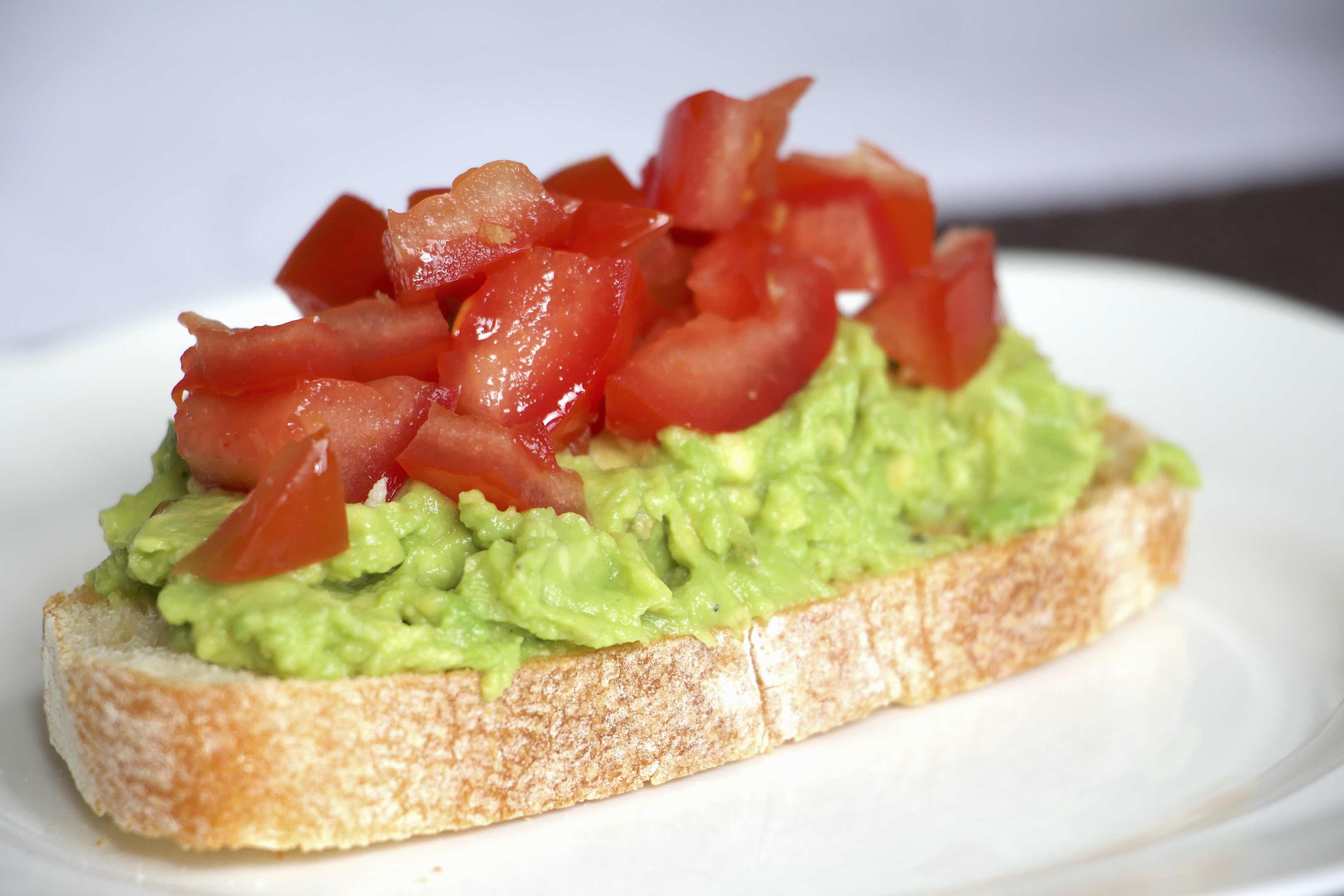 Bruschetta Avocado